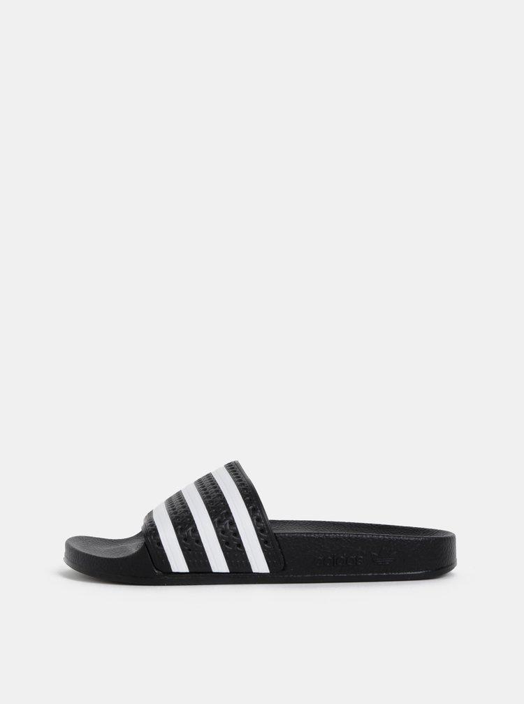 Čierne šľapky adidas Originals Adilette