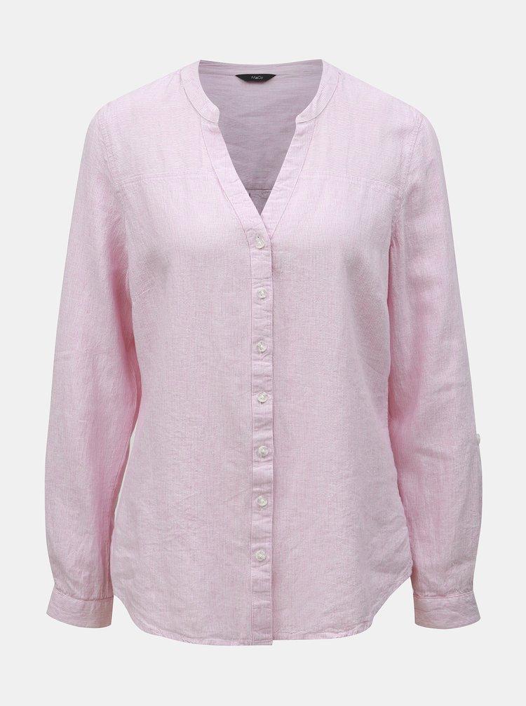 Bluza roz in dungi din in M&Co