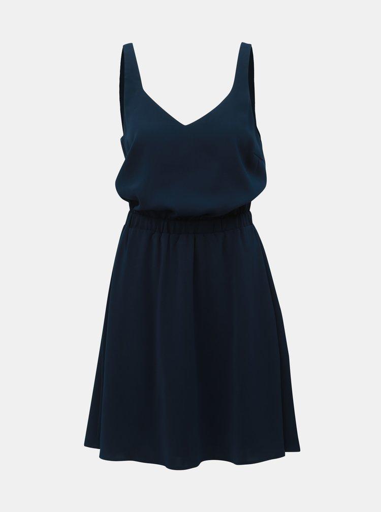 Tmavě modré šaty VILA Laia