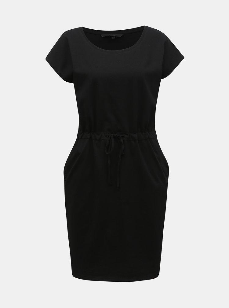 Čierne šaty s vreckami VERO MODA April