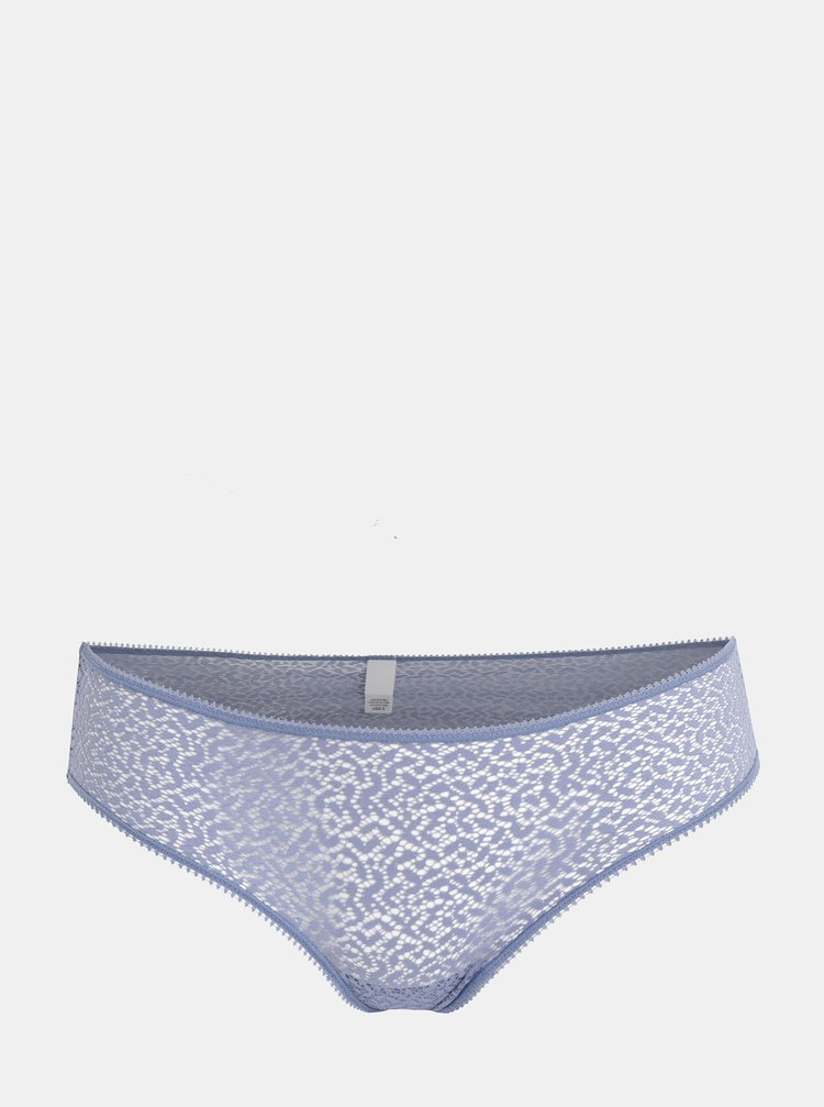 Modré čipkované nohavičky DKNY