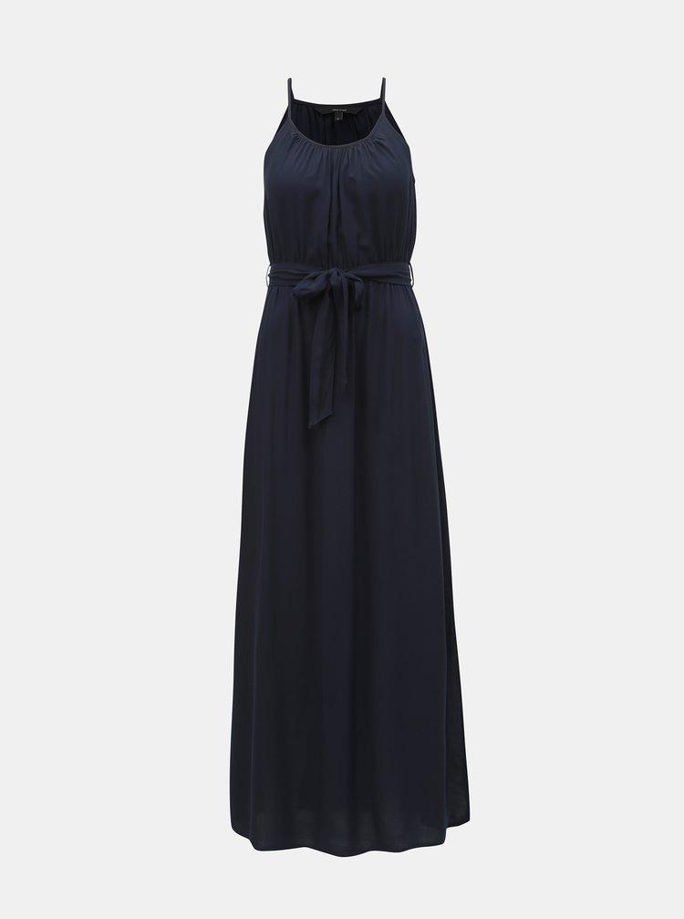 Rochie maxi albastru inchis cu bretele VERO MODA Simply Easy