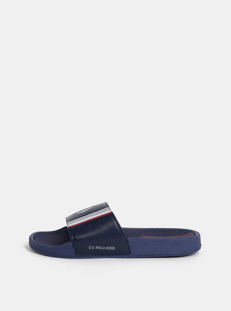 Tmavě modré pánské pantofle U.S. Polo Assn.