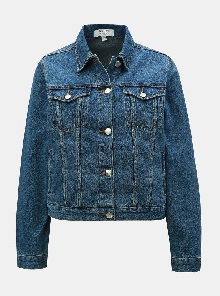 Modrá rifľová bunda Dorothy Perkins