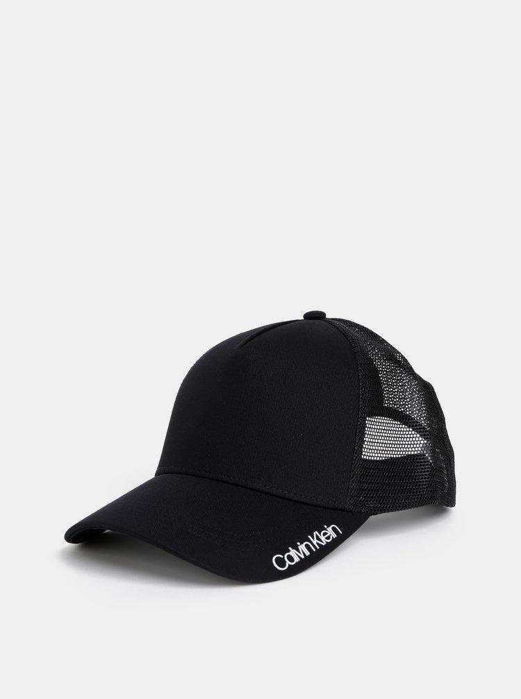 Čierna šiltovka Calvin Klein Jeans