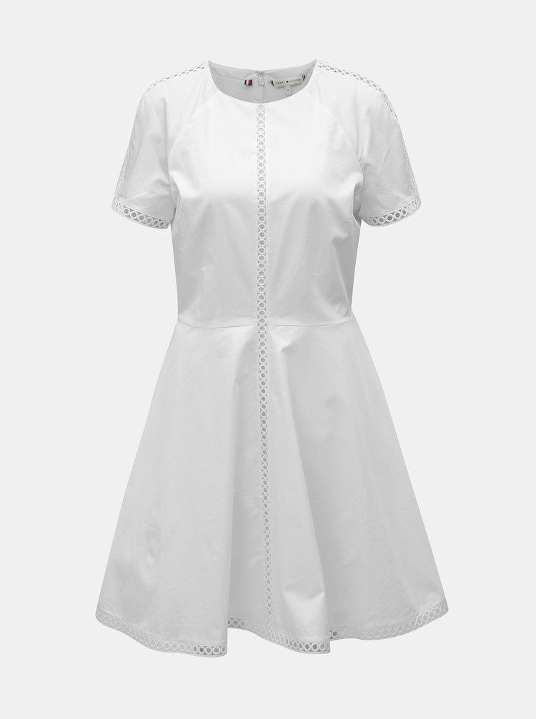 Biele šaty Tommy Hilfiger Daria