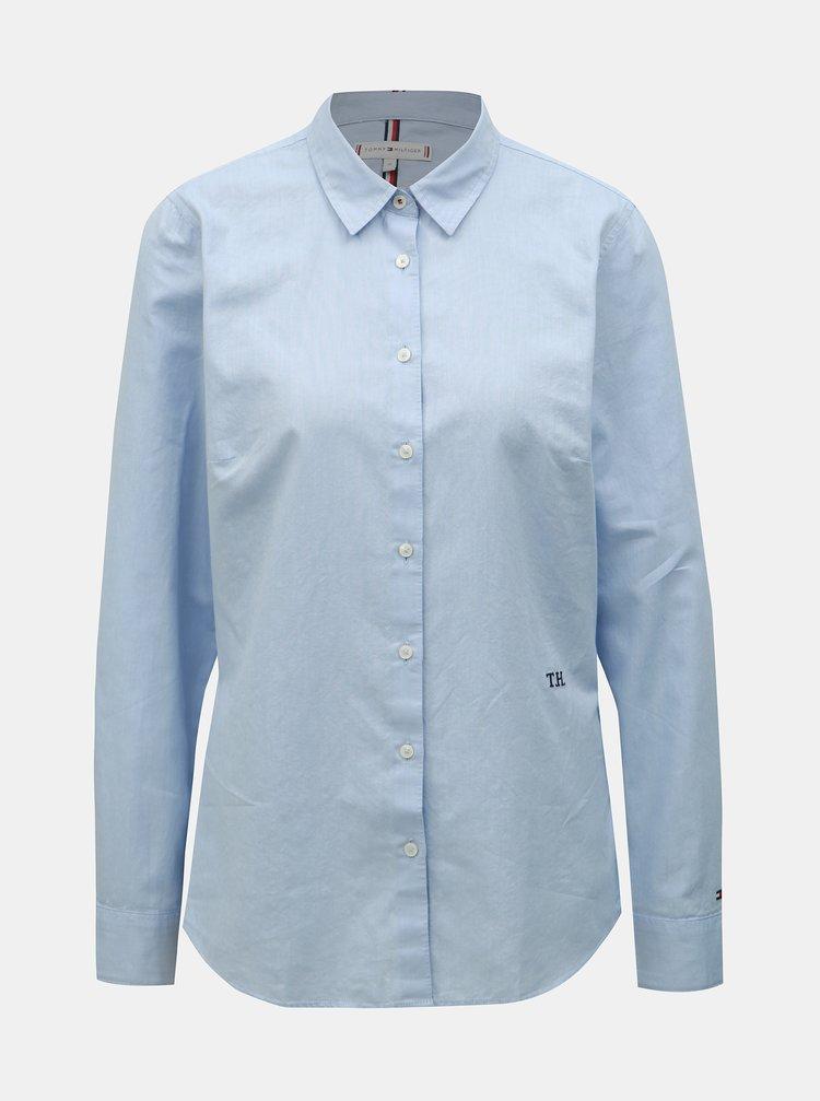 Svetlomodrá dámska košeľa Tommy Hilfiger Essential