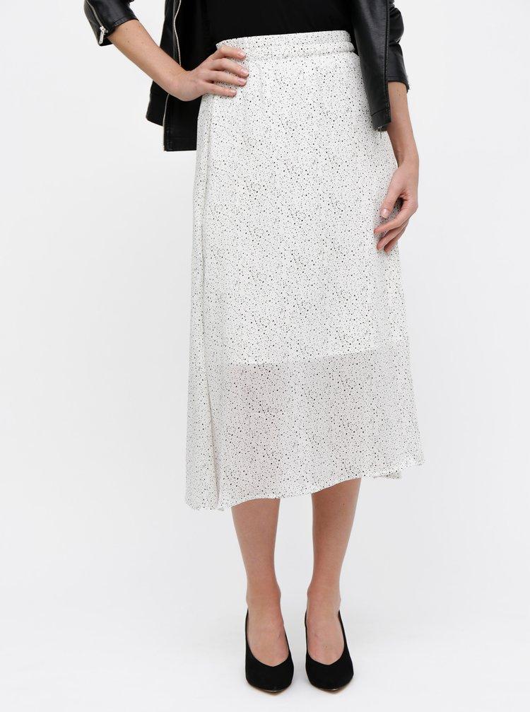 d114c5029576 Zeleno-bílá květovaná maxi sukně ONLY Nova