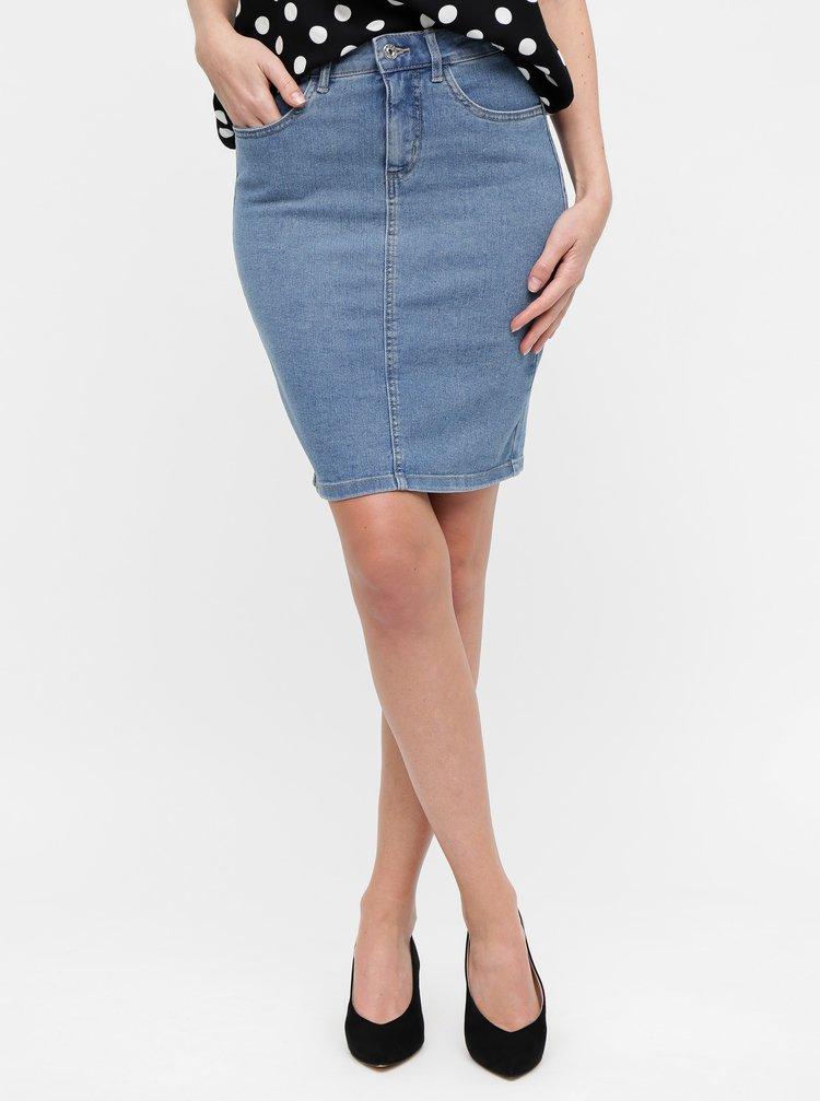 Modrá džínová sukně ONLY Kiss
