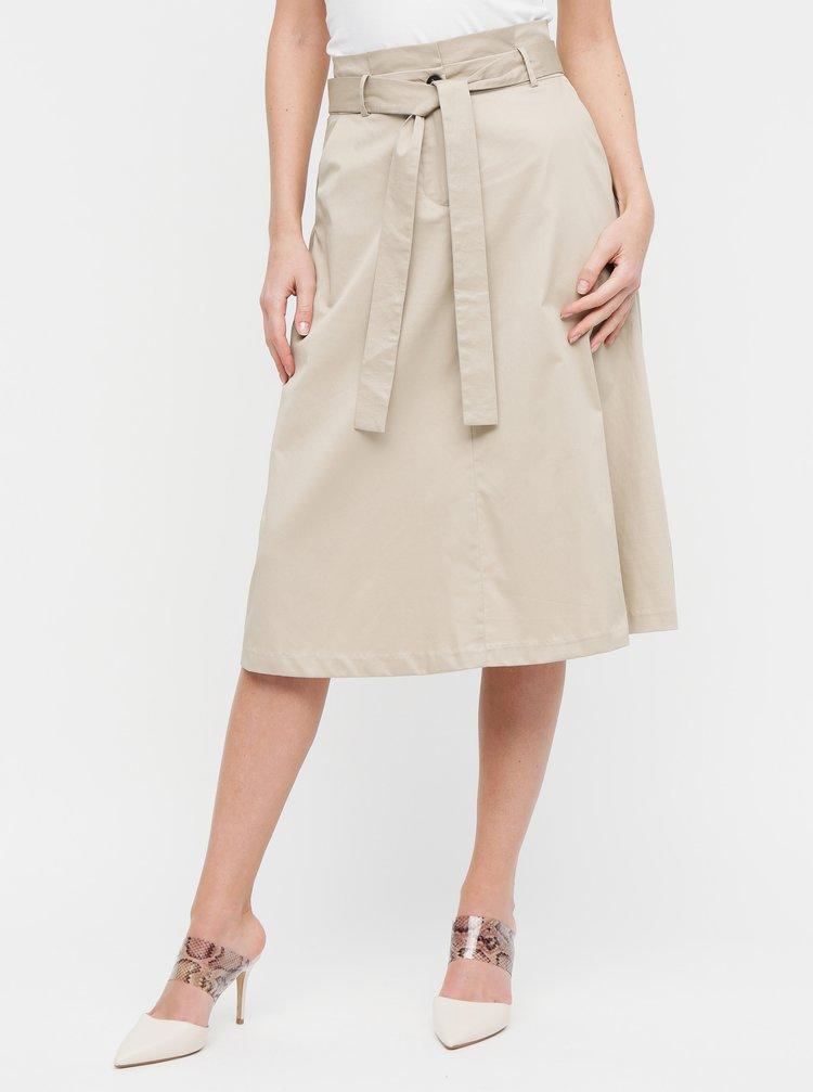 Béžová sukňa VILA Bettias