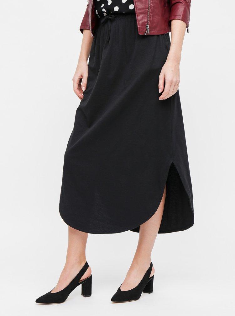 Černá maxi sukně Jacqueline de Yong Austin