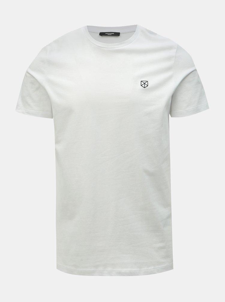 Bílé tričko Jack & Jones Power