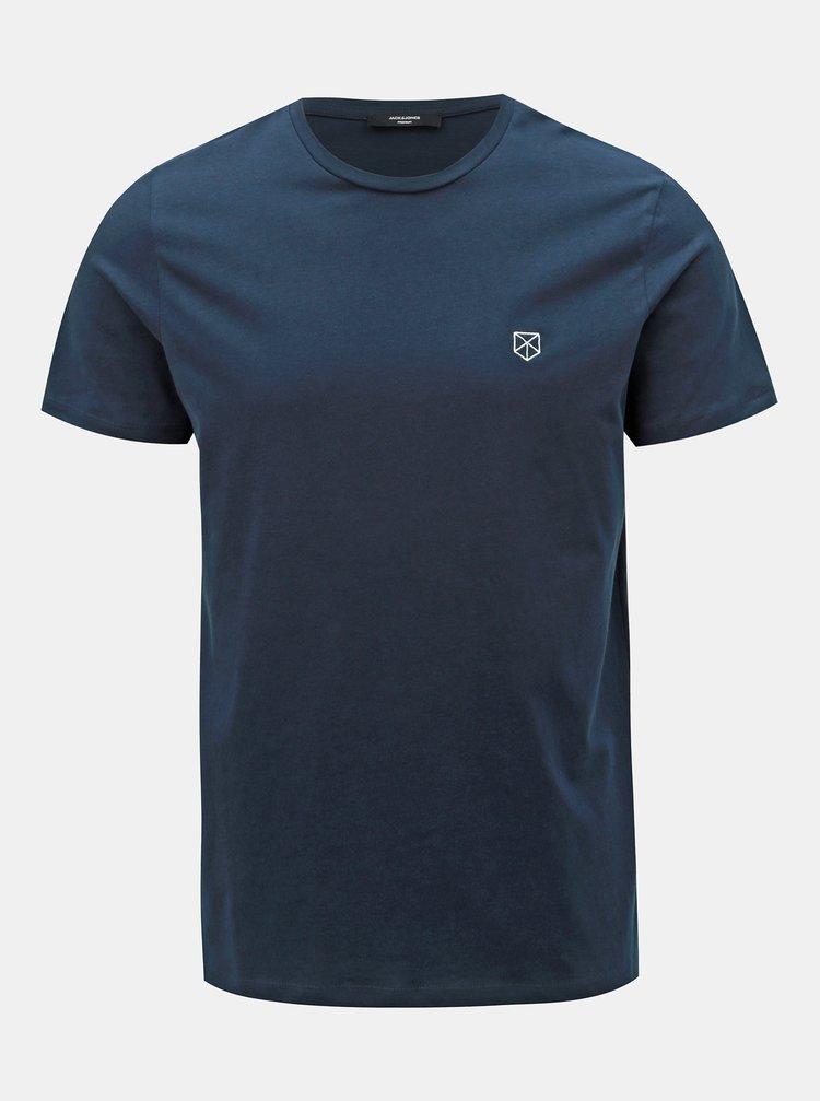 Tmavě modré tričko Jack & Jones Power