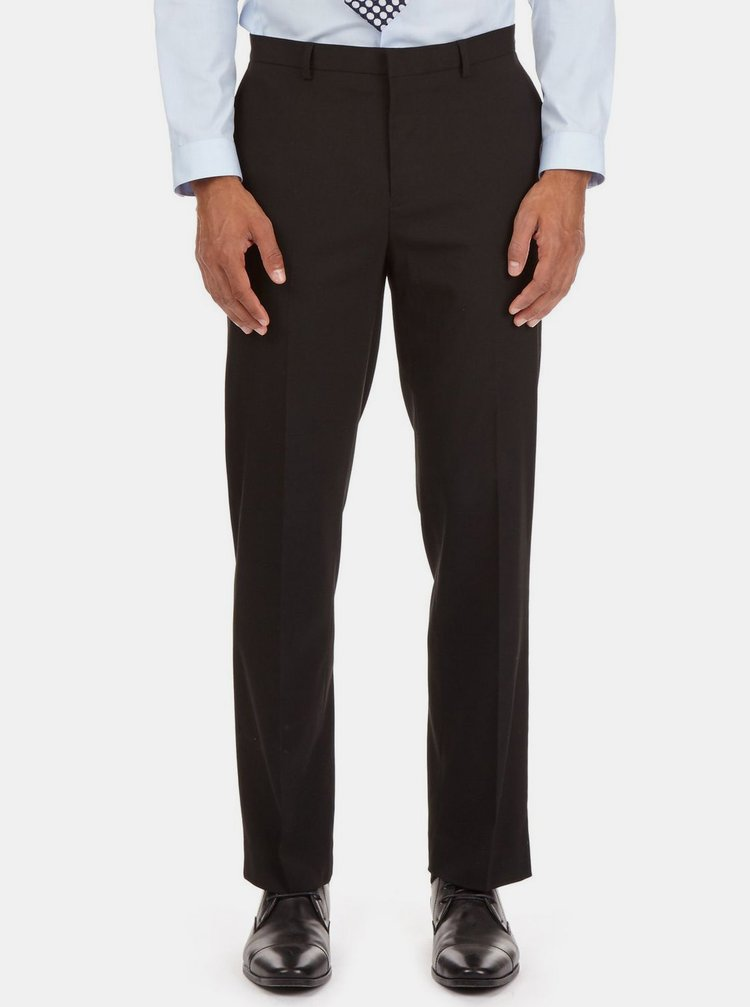 Pantaloni formali negri tailored fit Burton Menswear London