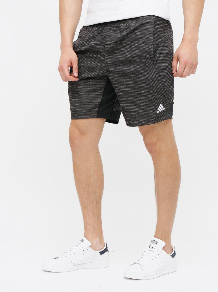 Pantaloni scurti barbatesti negri in dungi adidas Performance 4KRFT