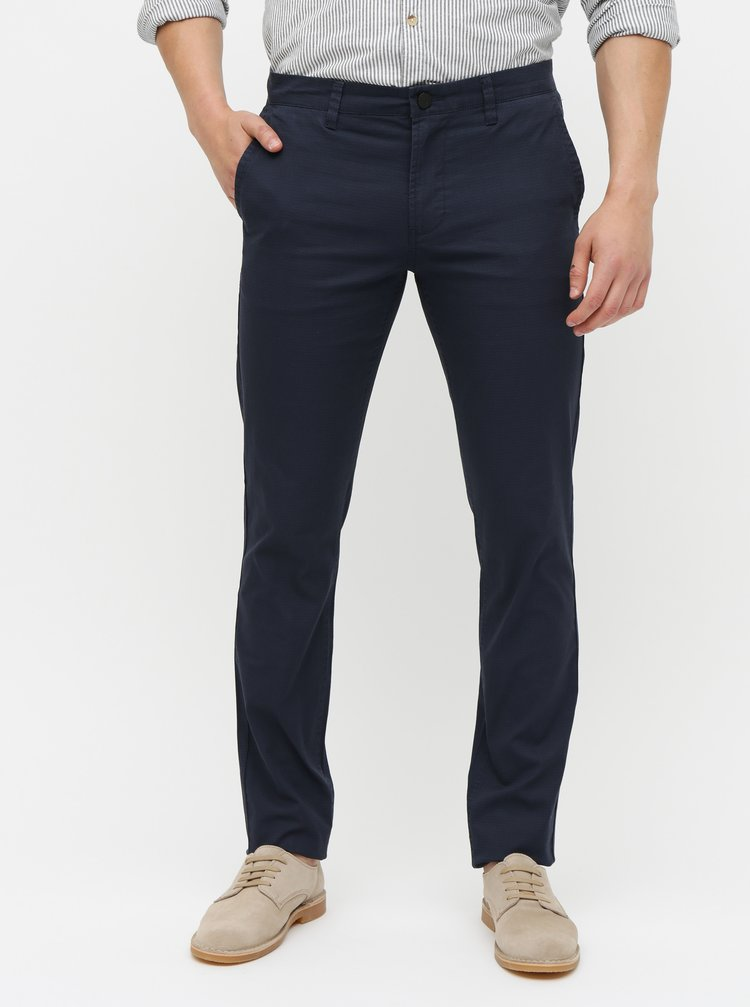Pantaloni albastru inchis chino ONLY & SONS Tarp