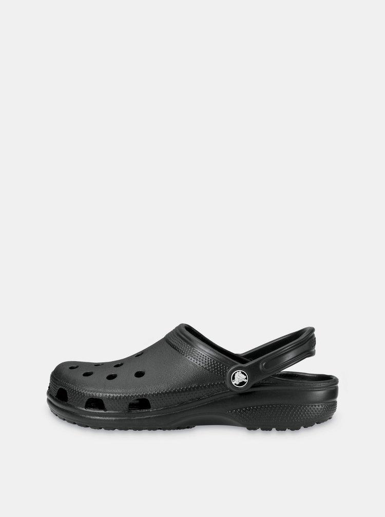 Papuci negri Crocs Classic