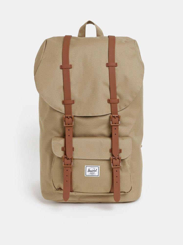 Světle hnědý batoh Herschel Supply Little America 25 l
