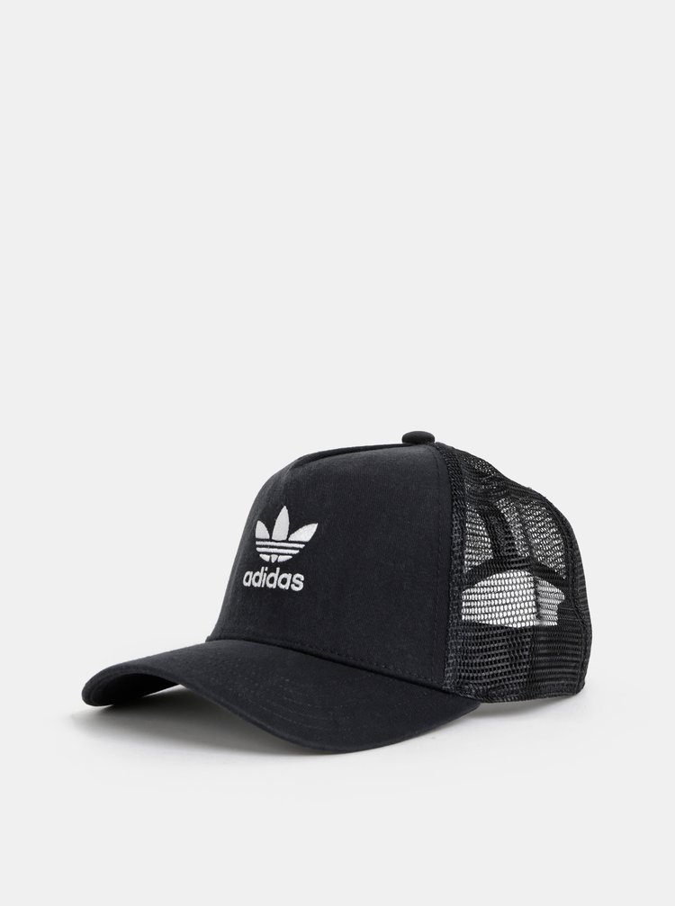 Černá kšiltovka adidas Originals Trefoil