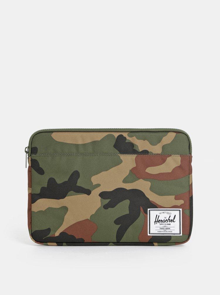 292868e95 Zelený maskáčový obal na notebook Herschel Supply 13