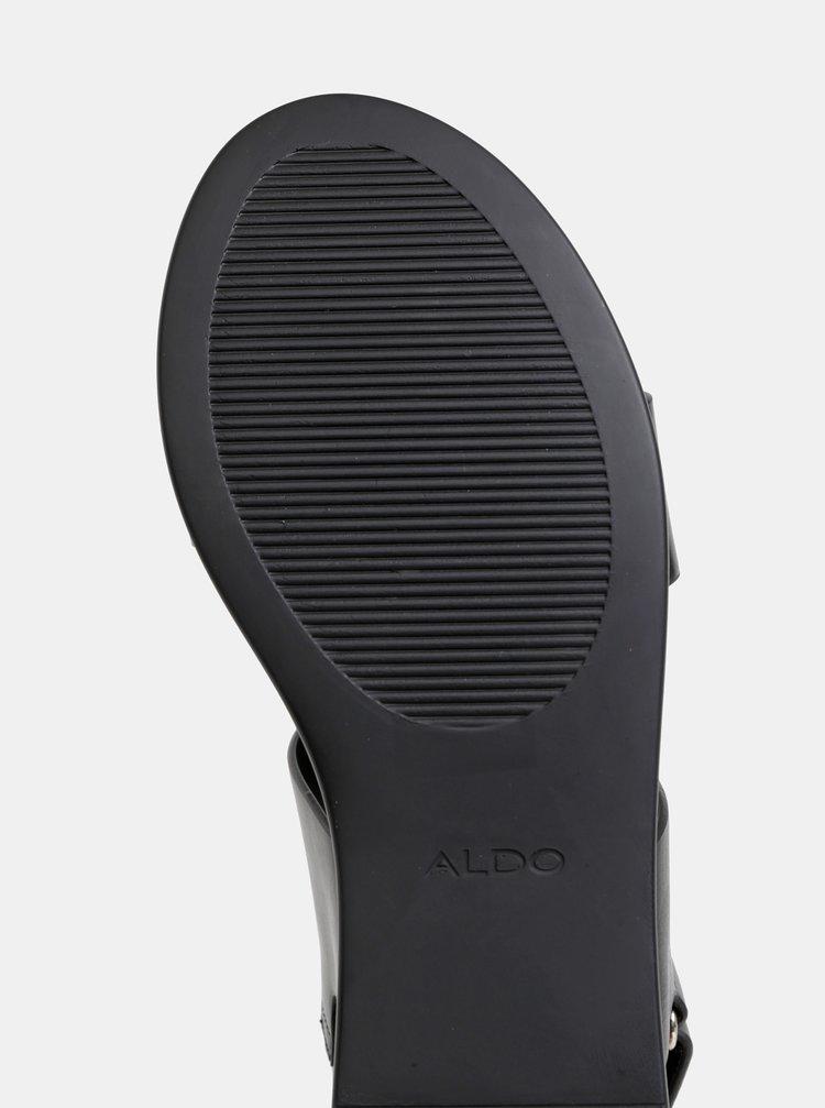 62e848a6fa Čierne dámske sandále na platforme ALDO Agrerinia