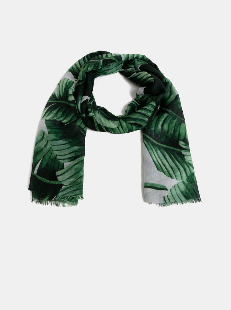 Zelený vzorovaný šátek Haily´s Kimmy