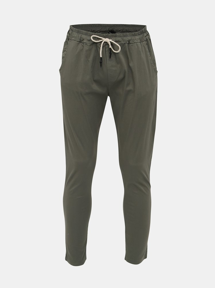 Khaki pánské kalhoty Haily´s Pepe