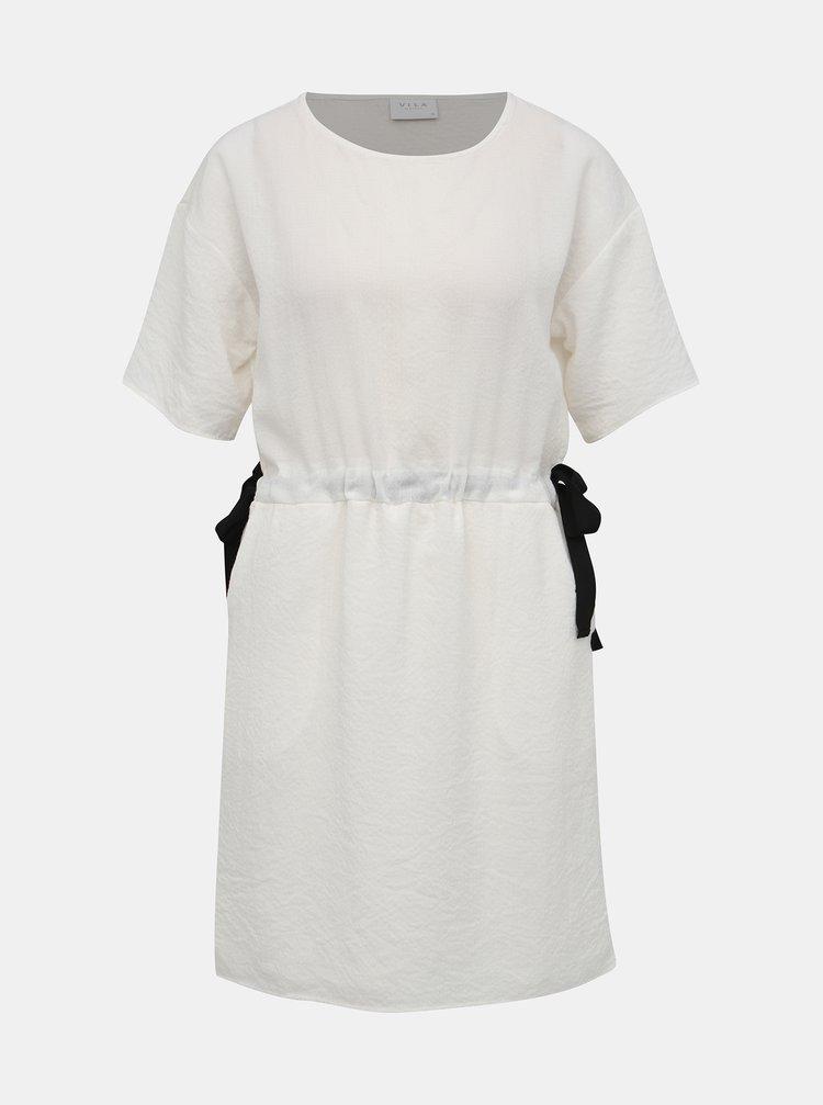 Bílé šaty VILA Mida