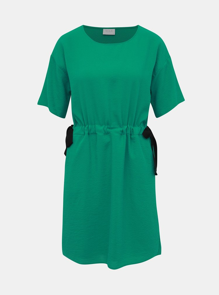 Zelené šaty VILA Mida