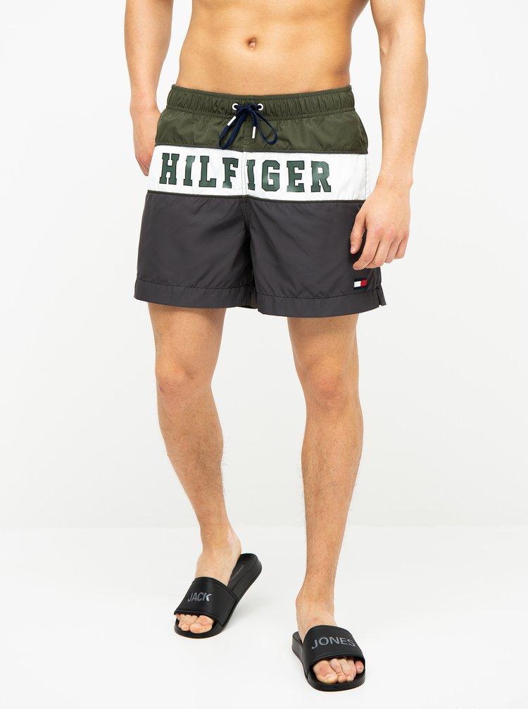 Zelené pánské plavky Tommy Hilfiger