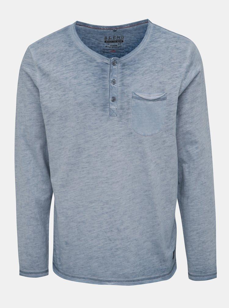 Modré žíhané tričko Blend