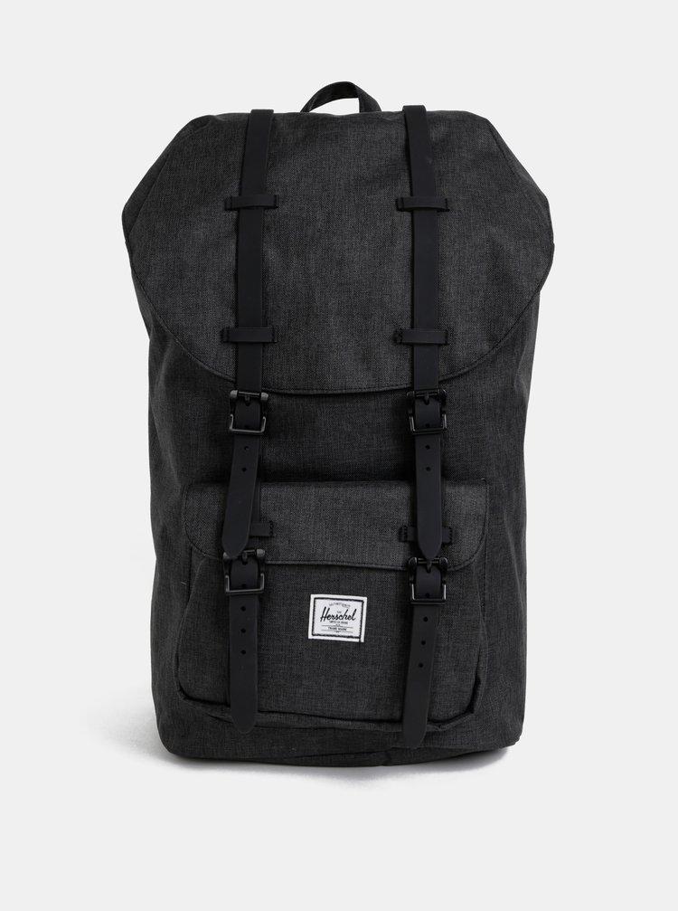 Tmavě šedý batoh Herschel Supply Little America 25 l