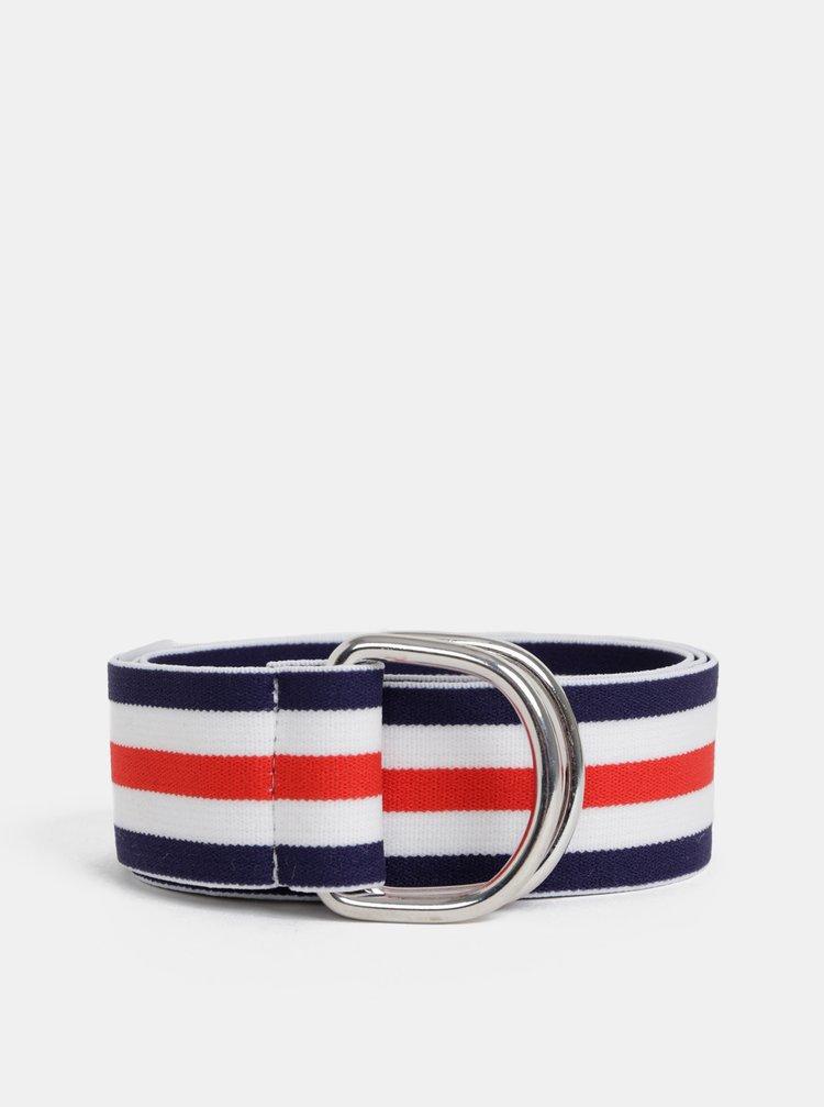 Bílo-modrý pruhovaný pásek ONLY Ella