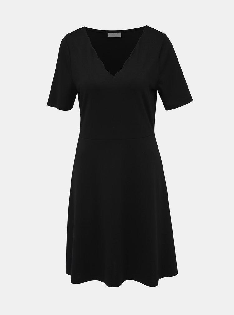 Čierne šaty VILA Rylie
