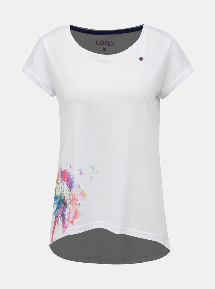 Bílé dámské tričko LOAP Aliena