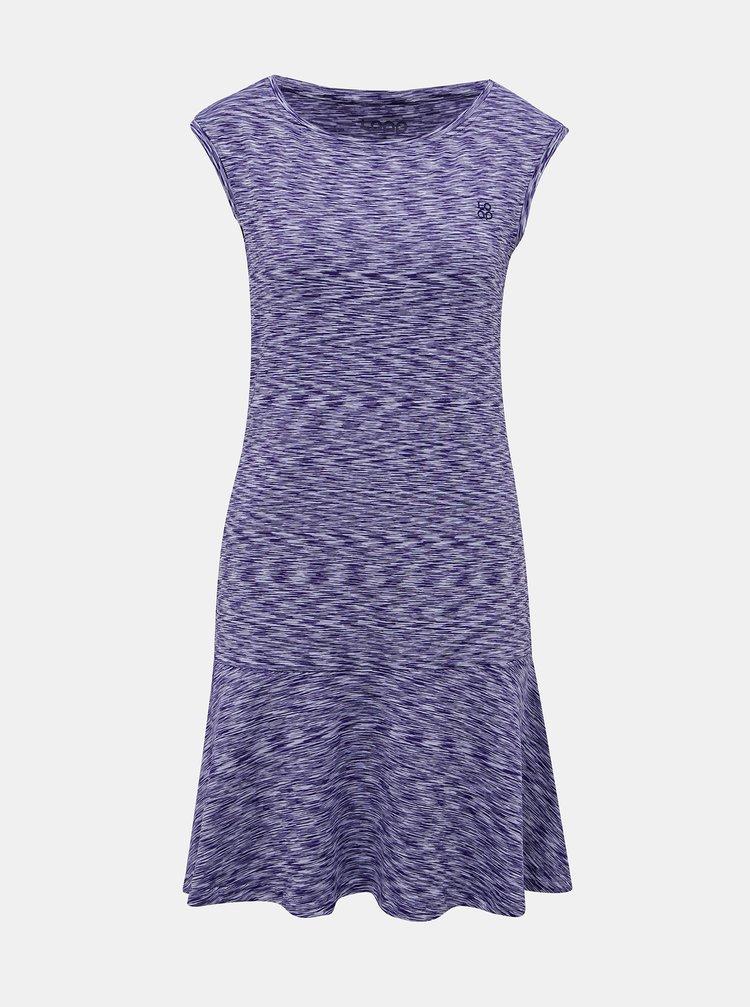 Fialové žíhané šaty LOAP Mandy