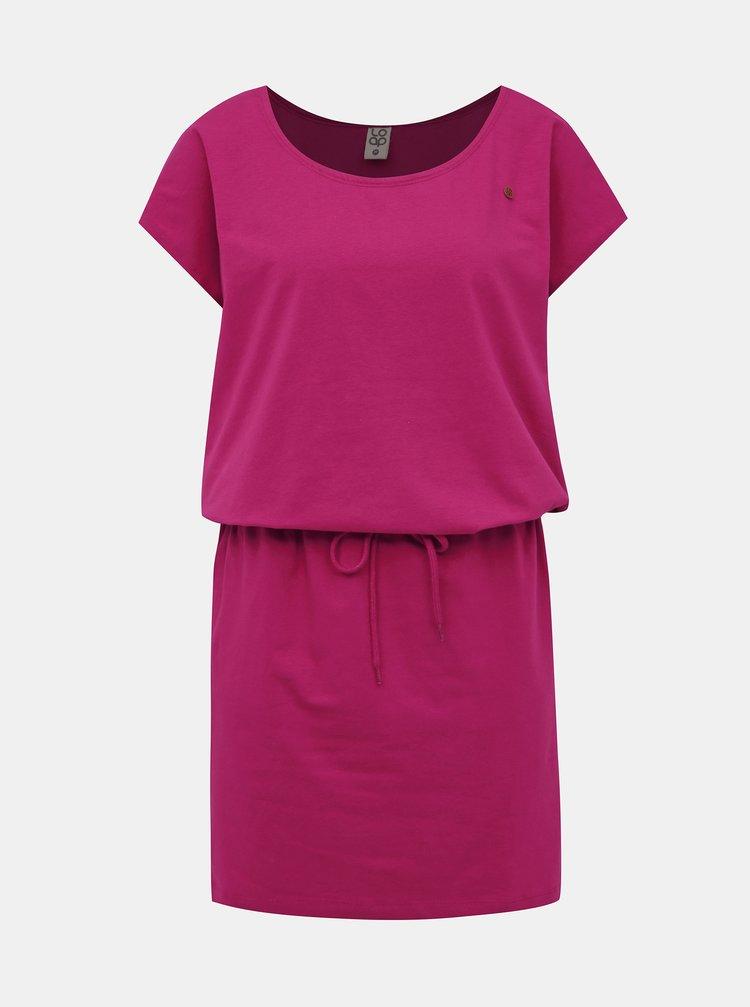 Rúžové šaty LOAP Ninie