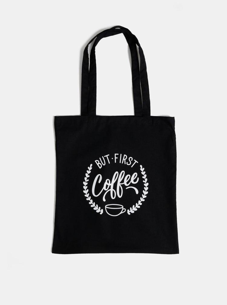 Čierna plátená taška ZOOT Original Coffee