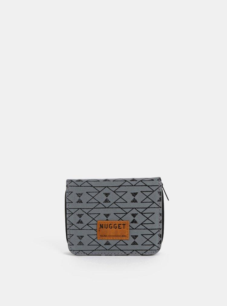 Šedá dámská vzorovaná peněženka NUGGET Alicia