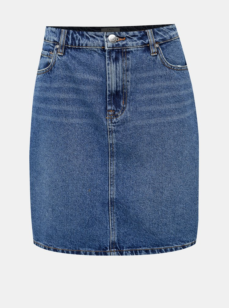 Modrá džínová sukně Dorothy Perkins Tall