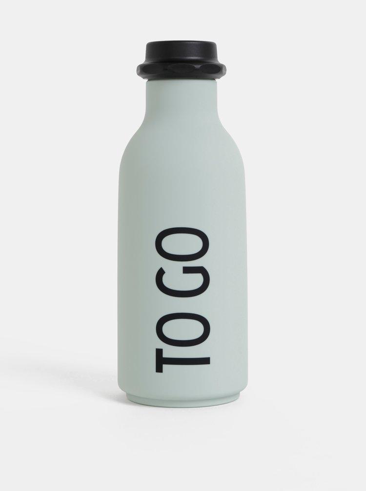 Mentolová láhev na pití Design Letters To Go 500 ml