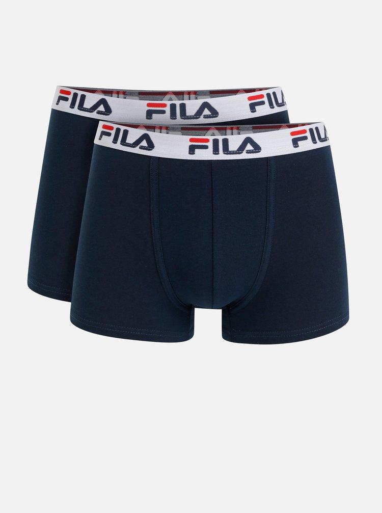 Sada dvou tmavě modrých boxerek FILA