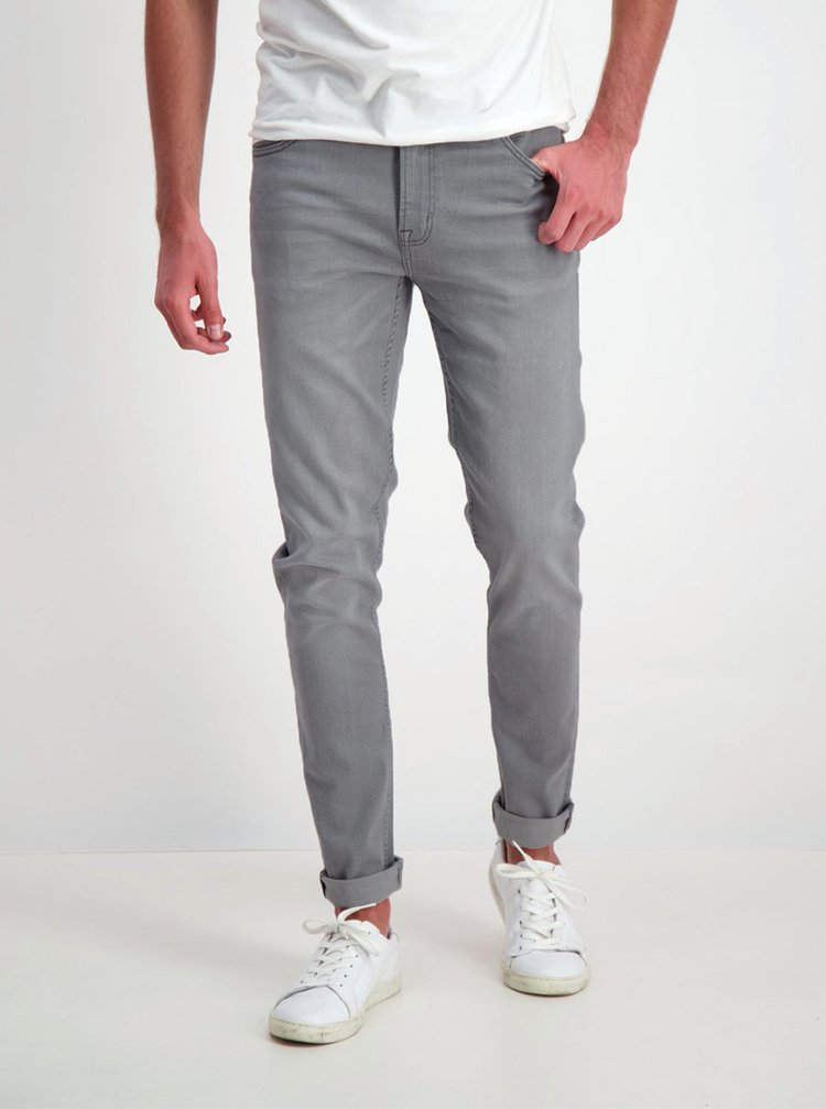 Šedé slim fit džíny Shine Original