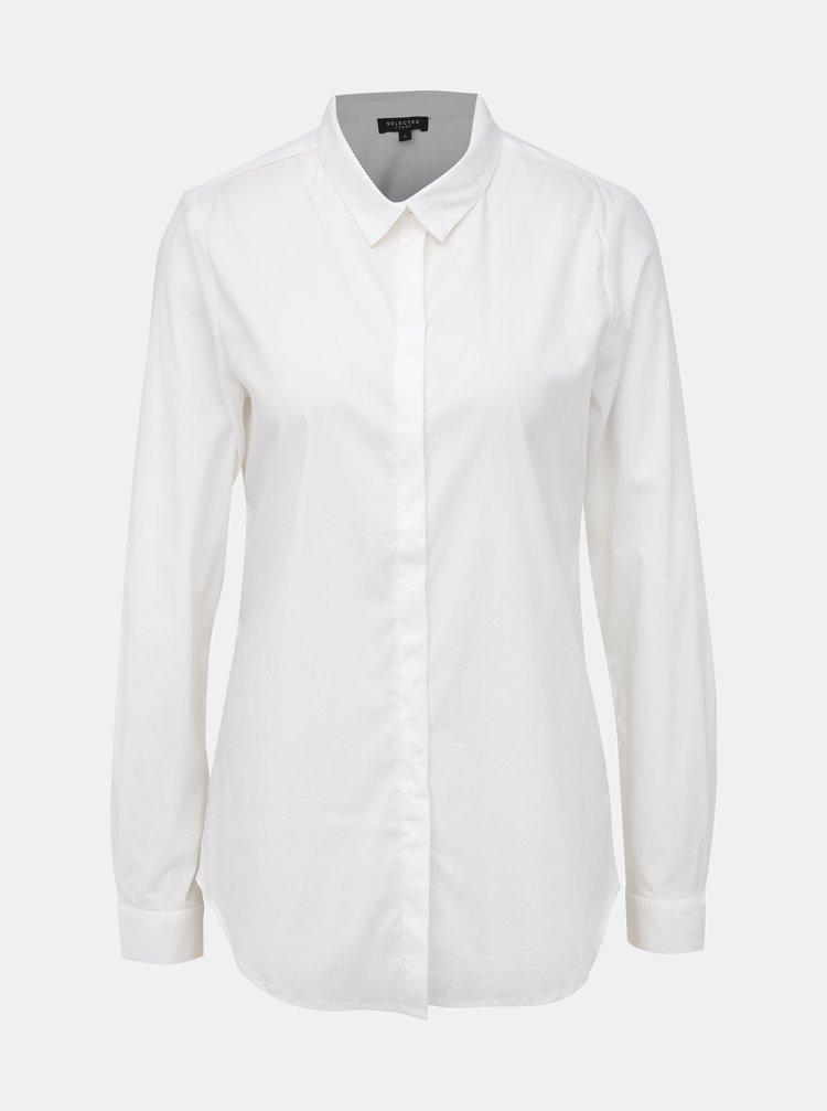 Bílá košile Selected Femme Roma