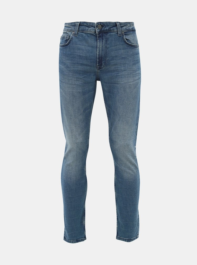 Modré skinny fit rifle ONLY & SONS Warp