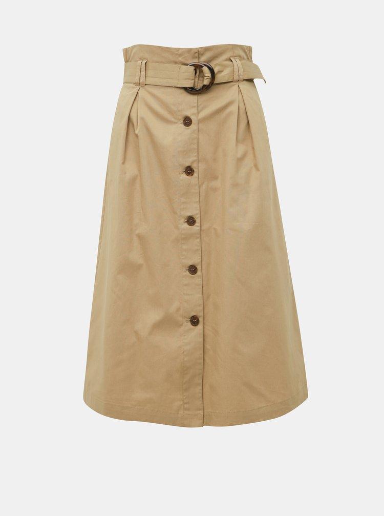 Béžová sukně ONLY Kate