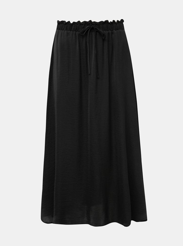 Černá midi sukně Jacqueline de Yong Appa