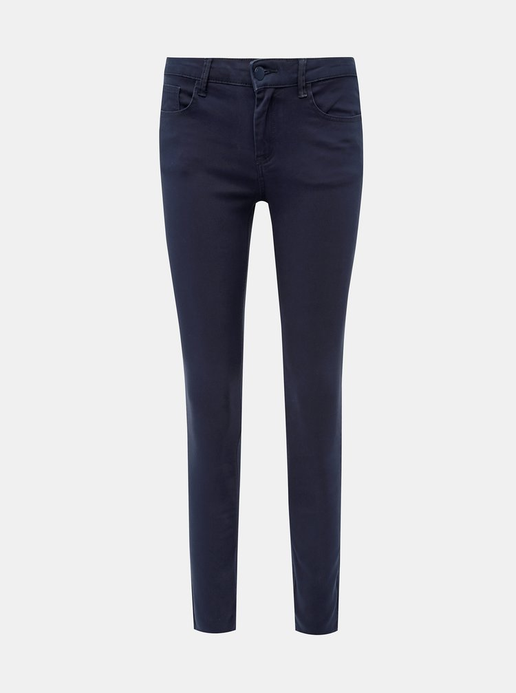 Tmavomodré skinny fit rifle Jacqueline de Yong Five