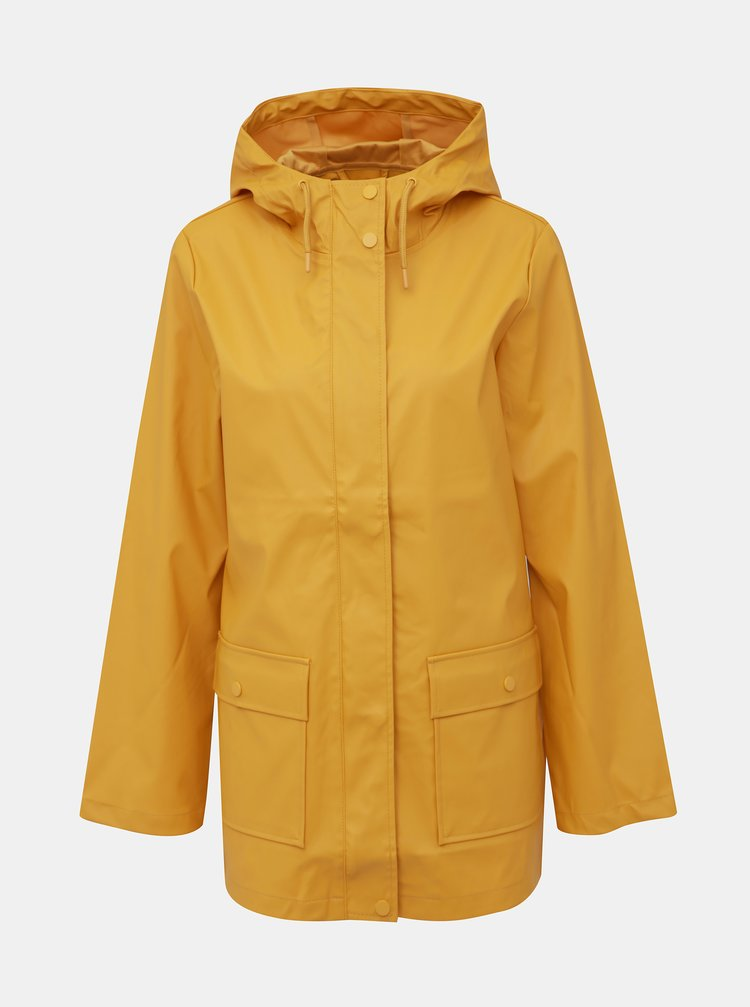 Světle oranžová voděodolná bunda Dorothy Perkins