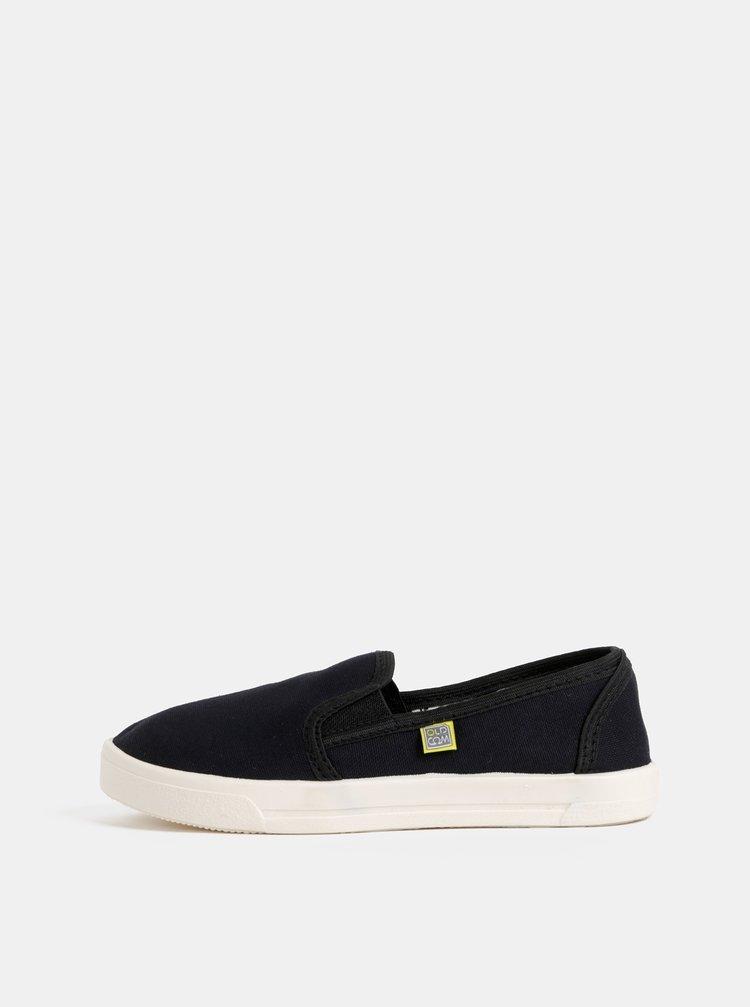 Pantofi slip-on negri unisex Oldcom Cooper